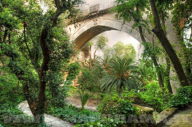 Il ponte costruito da Ferdinando I